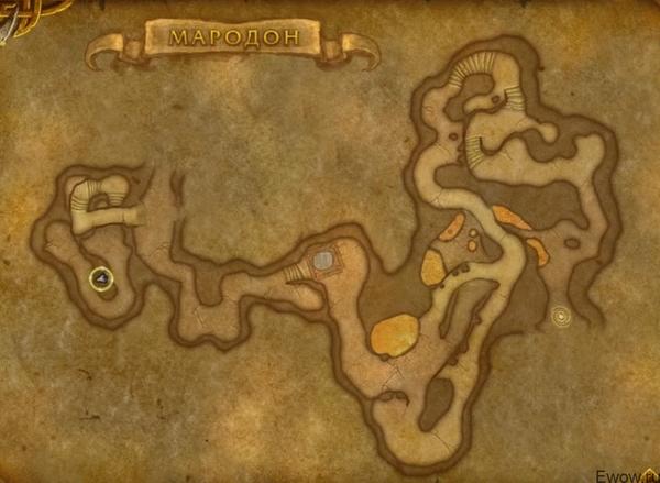 Где находится Мародон