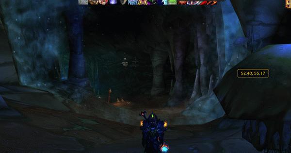 Где находится Пещеры Стенаний