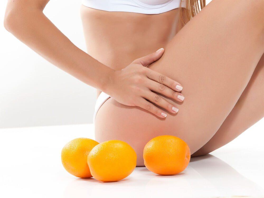 Апельсиновая корка в борьбе с целлюлитом