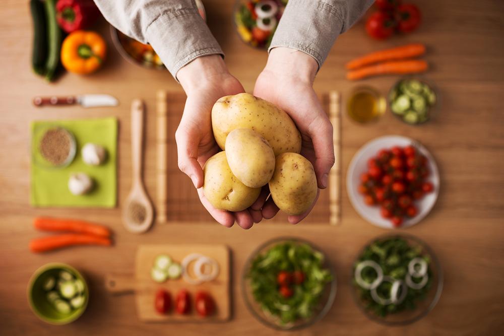 Картошка способствует похудению
