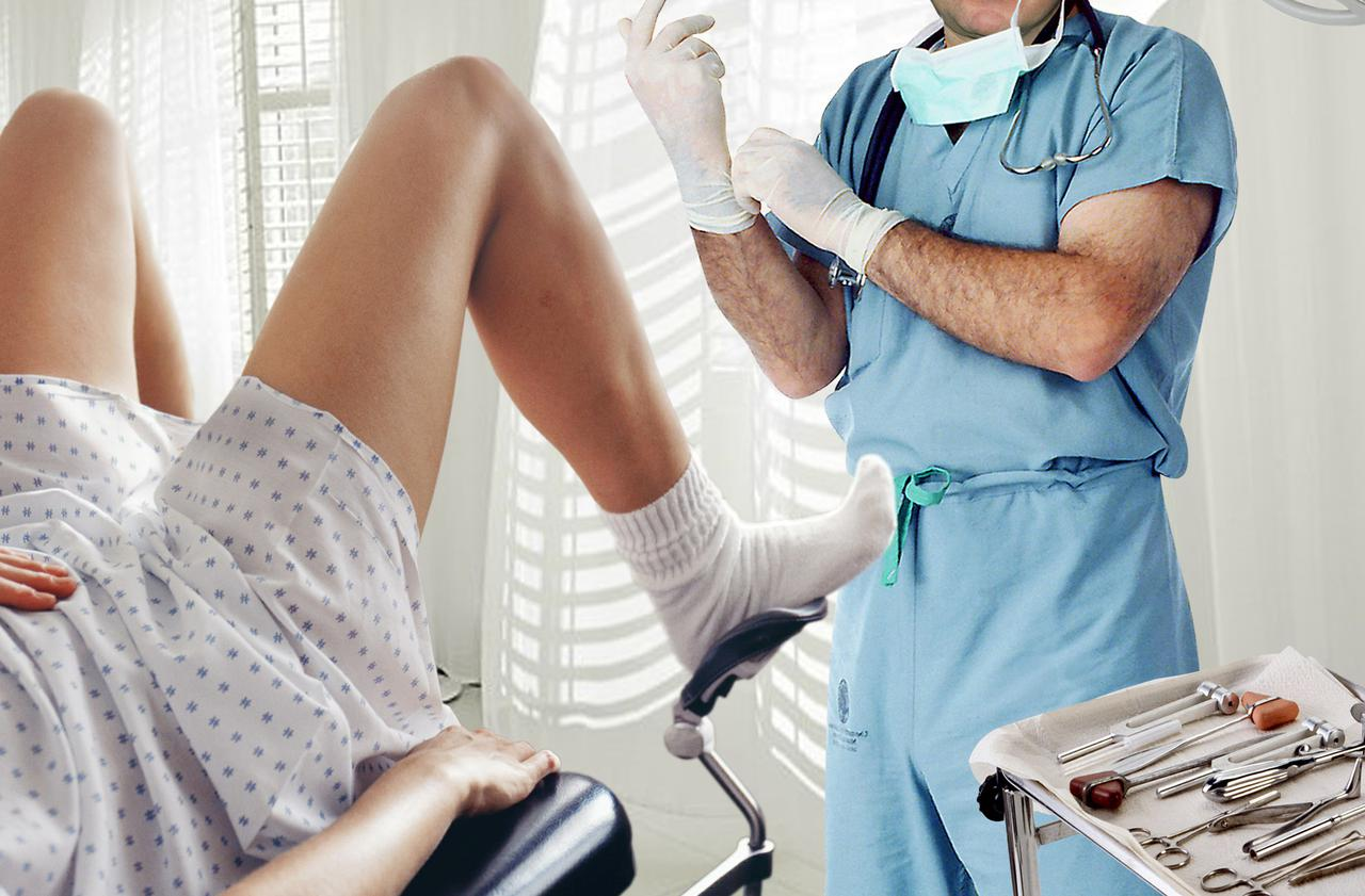 Нежное видео врач гинеколог пытается приставать к пациенту раком криками