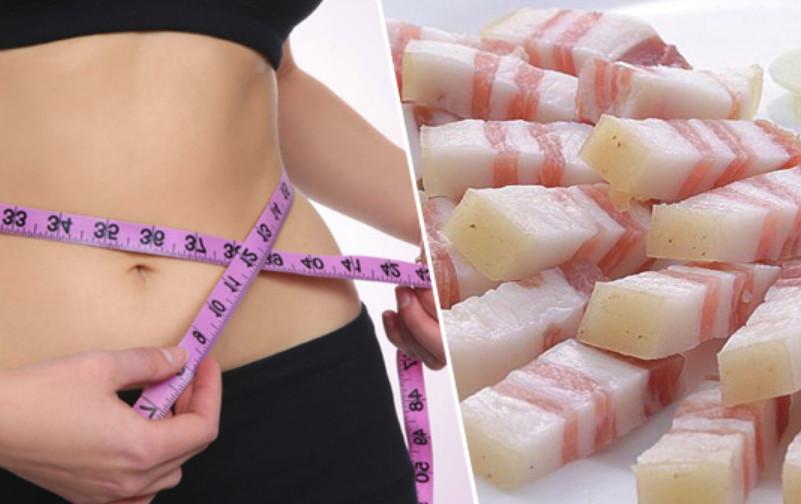 можно ли сало есть при диете